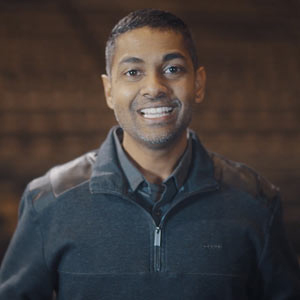Headshot of Michael Persaud