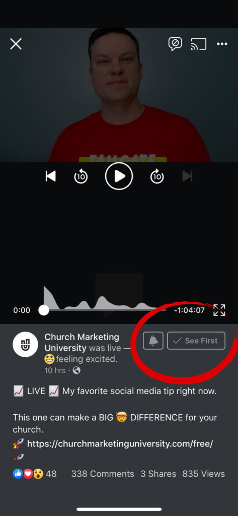 Church Marketing See First Mobile