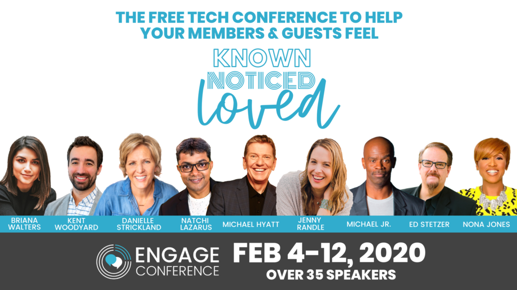 Speaker for the Engage Conference