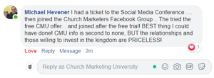 Review of Church Marketing University from Michael Heavener